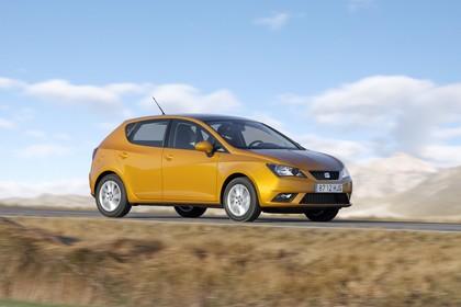 SEAT Ibiza 6P Front schräg dynamisch gelb