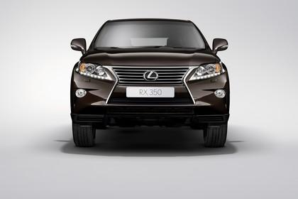 Lexus RX AL1 Studio Aussenansicht Front statisch braun