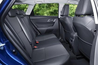 Toyota Auris Touring Sports E18 Innenansicht Rücksitze