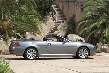 BMW 6er Cabriolet E64 Aussenansicht Seite statisch grau