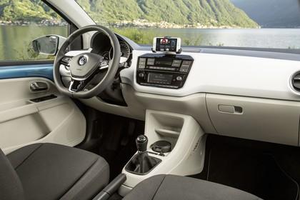 VW UP! Innenansicht Beifahrerposition statisch beige