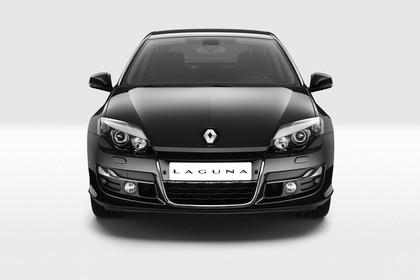 Renault Laguna Limousine T Facelift Aussenansicht Front statisch Studio schwarz